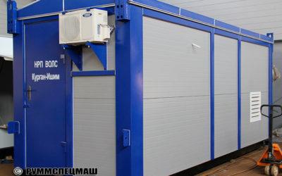 2013 Блок контейнер ОПУ (Общеподстанционный пункт управления)