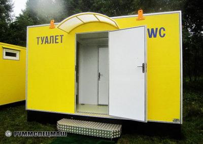 Блок-модуль «Санитарное помещение - Кемпинг»