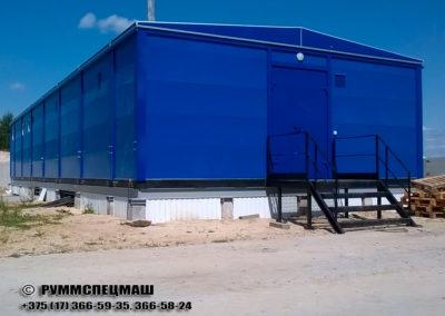 многоблочное комплексное здание для размещения электрооборудования