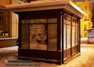 Павильон модульный Белсоюзпечать размером 4850 х 2850 х 3400мм. Европейское качество по белоруским ценам.