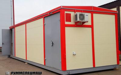2018 Модульное здание