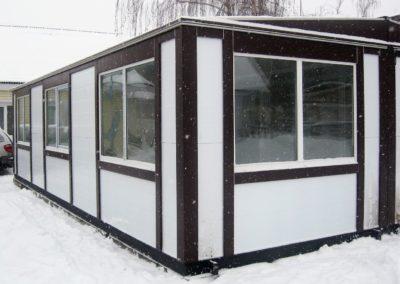 Офисные модульные здания