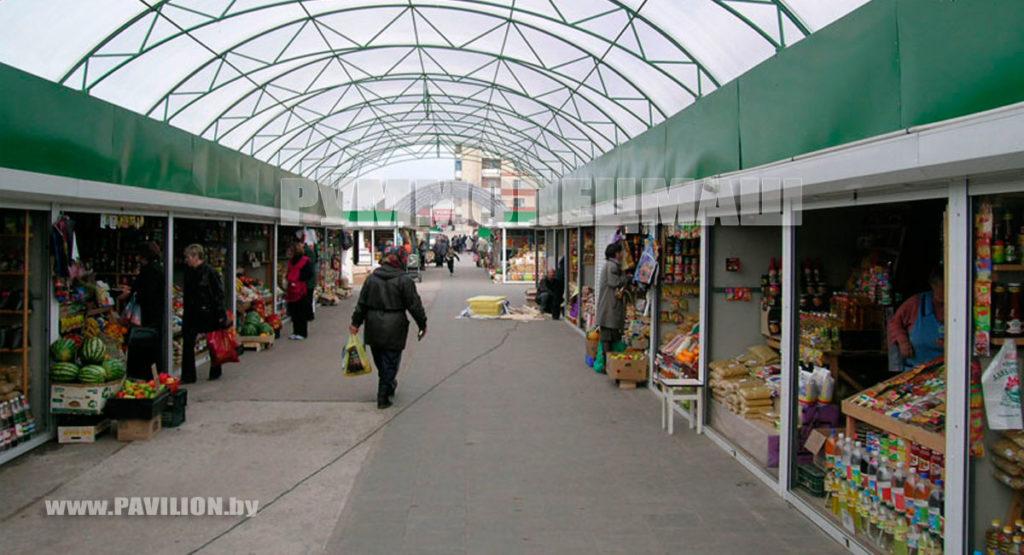 Торговые ряды, мини-рынки, торговые комплексы и мини-ярмарки.