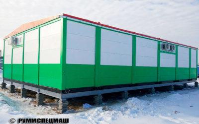 2017 многоблочное здание ОПУ (Общеподстанционный пункт управления)