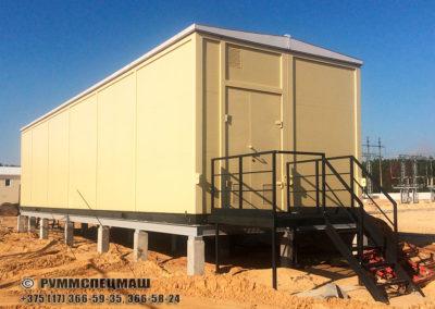 многоблочное здание ЗРУ полной заводской готовности с установленным и смонтированным электротехническим оборудованием
