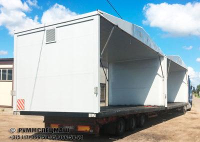 Павильон модульный ПМ 7050  (Модуль ЗРУ10 кВ)