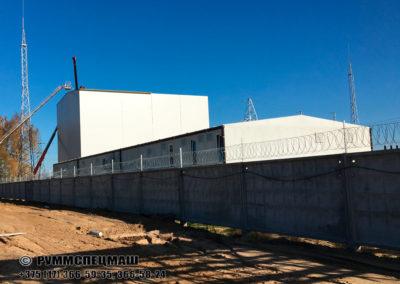 Модульное здание для КРУЭ  110 кВ - высоковольтное распределительное устройство с газовой изоляцией