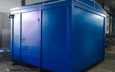 2020 Блок-контейнер модульный над КНС
